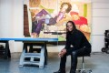 US artist Mickalene Thomas has a solo exhibition at Lehmann Maupin gallery in Central, Hong Kong.
