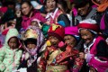 The fertility rate for Tibetan women is 1.5, below the national average of 1.8. Photo: AFP
