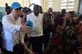 UN Secretary General Ban Ki-moon in Haiti earlier this year. Photo: AFP
