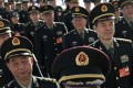 The PLA has streamlined its command structure as part of its reforms. Photo: AP