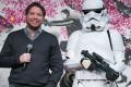Rogue One director Gareth Edwards promotes the film in Tokyo. Photo: EPA