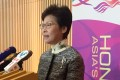 Carrie Lam says she understood her announcement would spark criticism that she was going back on her word. Photo: Naomi Ng