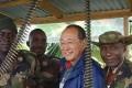 Hu Jieguo, a former teacher from Shanghai, is now a tribal chief in Nigeria. Photo: News.ynet.com