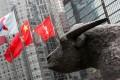 External view of Hong Kong Stock Exchange. Photo: David Wong