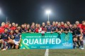 Hong Kong celebrate qualifying for next year's Women's Rugby World Cup. Photos: Hong Kong Rugby Union