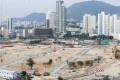 The construction site at Kai Tak, formerly home to Hong Kong's airport. Photo: Dickson Lee