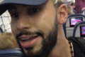 Screenshot of a video taken by Adam Saleh shows him being removed from a Delta flight. Photo: Twitter/Adam Saleh