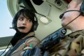 Afghan pilot Niloofar Rahmani had been due to return from a training stint in the US but decided to stay out of fear for her safety in Afghanistan. Photo: Xinhua