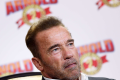 US actor and former California governor Arnold Schwarzenegger will join Hong Kong actor Jackie Chan in a Russian-Chinese fantasy flick, Viy-2 . Photo: K. Y. Cheng