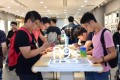 An Oppo experience store in Guangzhou, where users can try out smartphones. Photo: Handout