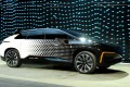 Faraday Future's FF 91 prototype electric crossover vehicle is unveiled in Las Vegas, Nevada. Photo: AFP/Reuters