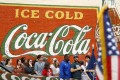 A Coca-Cola mural in Atlanta. Nostalgia is a powerful tool for retailers. Photo: Reuters