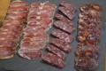 Cuts of jamon Iberico at Cinco Jota in Huelva, Spain. Photo: Chris Dwyer