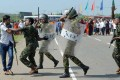 Sri Lankan activists clash with police at a protest against Chinese investments in a port on the island. Photo: AFP