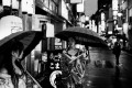 Sheltering in the back streets: an image from the book Tokyo by Paul Bradshaw.