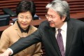 Carrie Lam and John Tsang were the two most popular picks. Photo: Sam Tsang
