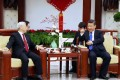 General Secretary of Vietnamese Communist Party, Nguyen Phu Trong said in his talks with Xi that Vietnam is willing to extend maritime cooperation with China, and their relationships in trade, investment, tourism, and national defence. Photo: Xinhua