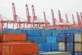 Containers at the port of Lianyungang in east China's Jiangsu province in December. US president-elect Donald Trump has threatened to slap a 45 per cent tariff on imports from China. Photo: Xinhua