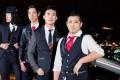The Slants (from left) Joe X. Jiang, Ken Shima, Simon Tam and Yuya Matsuda.