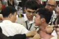During the incident, Nathan Law suffered scratches to his neck and arms and a bruise on his right thigh. Photo: Handout