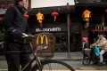 A Chinese-owned fast-food chain may, for some, cause concern about food safety. But the standards of McDonald's surely allay any such worries . Photo: AFP