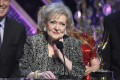 US actress Betty White, the only living actress from the hit comedy TV show Golden Girls, who turned 95 on Tuesday. Photo: AP