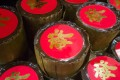 """The name for the sweet or savoury steamed nìn gou, """"sticky cake"""", alludes to nìn nìn gou sing, """"to improve year on year""""."""
