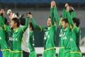 Players of Beijing Guoan in March 2013. PHoto: Xinhua
