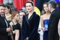 Evan Rachel Wood at the Screen Actors Guild awards on Sunday. Photo: AFP