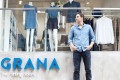 Luka Grana, chief executive of Hong Kong fashion start-up Grana, said that its offline pop-up locations and its permanent The Fitting Room in Sheung Wan drives about 10 per cent of monthly online sales. Photo: Grana