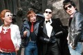 The Damned in the 1970s, (from left) Captain Sensible, Rat Scabies, Dave Vanian and Brian James.