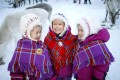 Sami children play in the reindeer kindergarten in Karasjok, Norway. The indigenous people of Europe's Arctic region were celebrating the centenary of their national day on February 6 with some 120 events planned in Norway. Photo: NTB Scanpix via AP