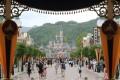 Visitors are seen at Hong Kong Disneyland. Photo: Felix Wong