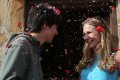 Asa Butterfield and Britt Robertson in the film The Space Between Us (category IIA), directed by Peter Chelsom.