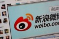Weibo saw its monthly active users grow 33 per cent year-on-year to 313 million, 90 per cent of which were mobile users. Average daily active users in December grew 30 per cent year over year to 139 million. Photo: Reuters