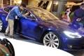 Tesla's updated Model S. Photo: Nora Tam