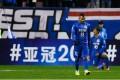 Shanghai Shenhua's Carlos Tevez against Brisbane Roar. Photo: Reuters
