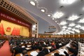 Deputies and delegates attend the Two Sessions annual plenary meetings at the Great Hall of the People in Beijing last year. Photo: Xinhua