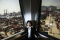 Talk needs to be turned into action to bolster Hong Kong's port, says Jessie Chung, chairwoman of the Hong Kong Container Terminal Operators Association, pictured at her office overlooking the berths at Kwai Tsing. Photo: Jonathan Wong