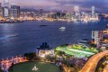 The view from Citadines Harbourview Hong Kong