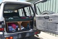 The truck which the 22-year-old British backpacker had been allegedly held. Photo: NEWS.COM.AU