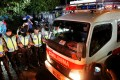 An ambulance carrying the remains of an executed prisoner on Nusa Kambangan island. Photo: Reuters