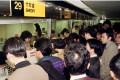 A queue at a Transport Department shroff in Hong Kong. Photo: SCMP