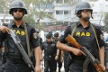 A man carrying explosives entered the Rapid Action Battalion (RAB) camp near the Dhaka international airport on Friday morning. Photo: EPA
