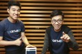 Johnny Au Yeung (left) and David Tang, co-founders of GetMeCV. Photo: Xiaomei Chen