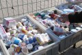 A stall selling medicines on the streets of Beijing. Photo: Reuters