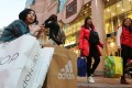 Mainland tourists visit go shopping in Causeway Bay. Photo: Edward Wong