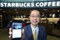 Norbert Tan Kwang-kin, executive director of Starbucks Hong Kong and Macau. Photo: Edward Wong