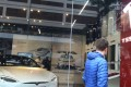 A showroom in Wan Chai for electric cars by Tesla Hong Kong. Photo: Dickson Lee