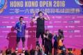 Hong Kong's Angus Ng Ka-long won the 2016 Hong Kong Open. Photo: EPA